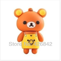 Wholesale free shipping hot sale - apron bear USB 2GB - 64GB of flash memory stick/car driving USB section 2.0 USB thumb pen