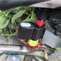 Bike Bicycle Security Password Alarm Warn Audible Sound Lock Waterproof 105DB