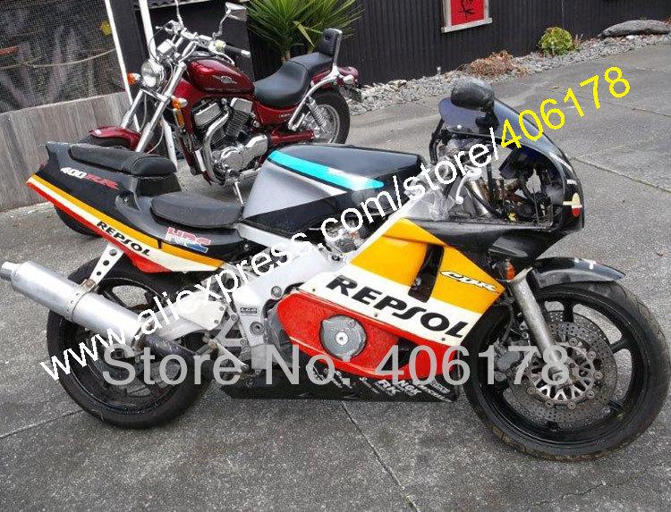 Hot Sales,Repsol Body Fairing kit CBR400RR NC29 1990-1998 CBR 400 RR NC29 90-98 Motor Kit Bodypart Fairing(China (Mainland))