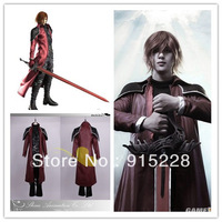 Japanese Anime Final Fantasy VII Cosplay Genesis Rhapsodos Cosplay Costumes Suit - Any Size (Free shipping).