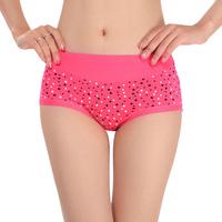 Dot ultra soft comfortable Modal material in butt-lifting high waist abdomen drawing 9919 panty