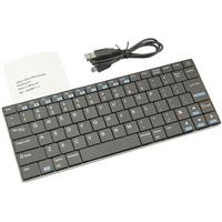 Ultra Slim Handheld Rii Wireless Bluetooth 84Keys Keyboard for Laptop PC Smart Phone PSP3