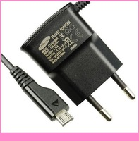200pcs/lot Travel Wall Charger ETAOU10EBE EU Plug For Samsung Galaxy S S2 S3 Note I9100 I9300 I9220 N7100