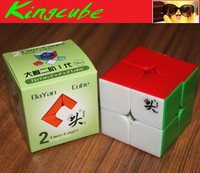 DaYan 2X2 50mm Speed Cube Stickerless  (zhanchi 2X2X2 Full color cube)
