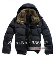 Faced Jacket men's Jackets vest kkle Down wear ski coat soft shell The Phere Triclimate Winter Hood men Outerwear Coats