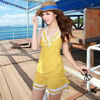 beach wear Swimwear female none split skirt style 1308 people hot springs  bikini