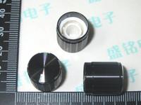 Black 15 16.5 aluminum alloy potentiometer knob