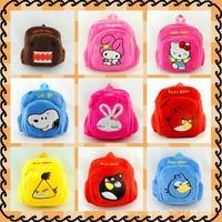 Superman cartoon bird plush bag backpack schoolbag child pairs