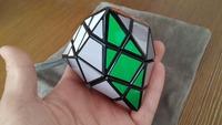 New Rare Tetra Pyramid 18-Sided Black Super Magic Skewb Cube (Diansheng)