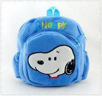Plush bag backpack schoolbag cartoon child pairs