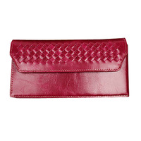 The new 2014 women wallet, really pickup bags, a woman long card package, leather wallet oil wax clasp wallet