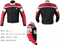 Free shipping MOTORCYCLE JACKET Racing Jacket distribution of five sets of protection device