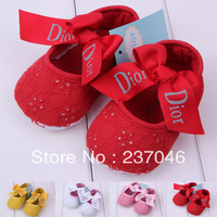 2014 New Fashion Baby shoes Girl Cotton Summer/Spring/Autumn Sandals & Clogs Toddler Infant Soft Anti-slip Shoes Free Shipping