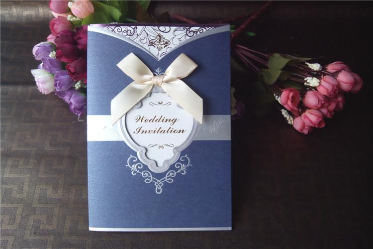 Royal Blue Wedding Invitation Templates Style Royal Blue Wedding