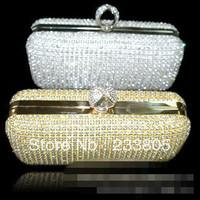 2014 Women handbags designers brand purses and handbags women messenger bags wallet diamond clutch bag channel wallets