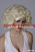 Free shipping(min. $20) antiflaming fiber  cosplay  festival wig Marilyn Monroe design hair extention hairpiece accessories