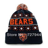 2014 new arrive Bears Beanie  men's wool beanie cheap beanies hats free shipping hot sale online beanies