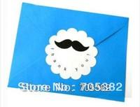 Cute Mustache Thank You Stickers Dia:6cm, Seal sticker (ss-6846)