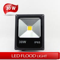 (5pcs/lot) Ultra Thin 30W LED Floodlight Outdoor LED Wash Flood light lamp Waterproof IP66 AC 85-265V free shipping