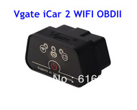 Newest Vgate iCar2 Vgate icar 2 Wifi ELM327 OBDMuliscanOBDII/Wifi ELM 327 Car Diagnostic interface support Android and IOS