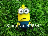 Wholesales New Cartoon Despicable Me Minions Dave Model usb 2.0 memory flash stick pen thumbdrive