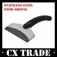 Free shipping New winter car ice handle stainless steel snow shovel cleaning tools scraper travel product for auto vehicle #8244