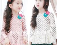 2014 Girls printting princess T shirts,5pcs/lot FXY027