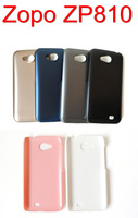 2PCS 10% OFF!! 2014 NEWEST 6 Colors Wear Resistant Hard Back Case For ZOPO ZP810 Phone Cover Fits ZOPO Bags