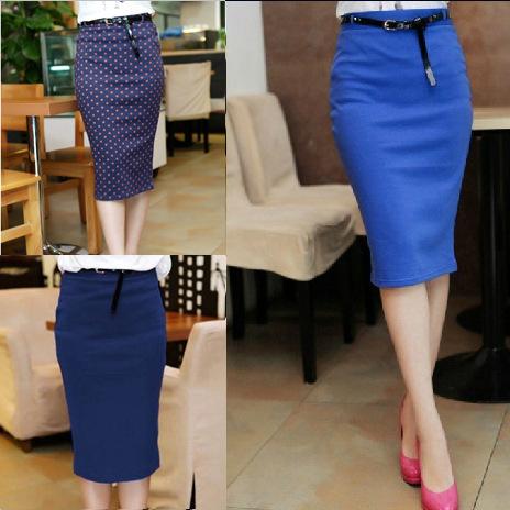 Color & High Waist Skirts