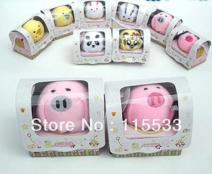 towel Cake towel gift single box small animal gift box commercial supplies free shipping(China (Mainland))