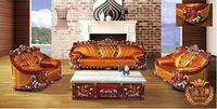 world famous free shipping by sea  most  luruxy genuine leather Home Furniture Living Room Furniture