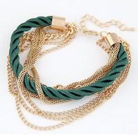 Low-key luxury woven multi-layer bracelet S5710