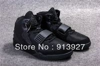 Free Shipping Top Quality Air Yeezy 2 Blackout Basketball Shoes