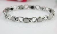 2014 New Hot Wholesalel Luxury Magnetic Stainless Steel Chain Bracelet For Women Fahison Jewelry SS006B
