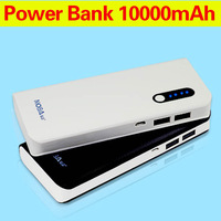 Free shipping 10000mAh Power Bank Pack Portable External Battery backup Charger for Apple & Android Devices