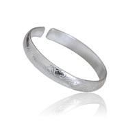 Large pure silver bracelet silver bracelet 999 pure silver bracelet silver baby child 1172 silver bracelet