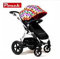Prams Kids,Portable Folding Practical Baby Stroller,Children Pushchair,Seat Adjusted to Protect Baby's Spine,Newborn Bassinet