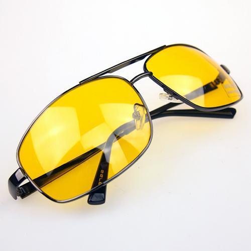 Brand New Night Driving Glasses Anti Glare Vision Driver Safety Sunglasses(China (Mainland))