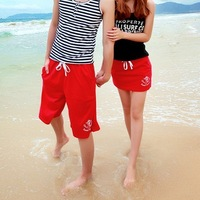 Lovers trousers beach wear mini skirt  lovers beach pants shorts