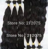 "12""-30""inches 6pieces/lot  Brazilian virgin curly wavy human hair extension* bulk hair*"