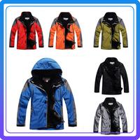 Warm 3 in 1 Ski Jacket Men Winter Waterproof Snow Jacket Snowboard Sport Jacket For Men Mountain Jacket free shipping