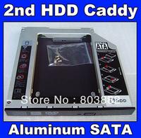 9.5mm Universal SATA 2nd HDD SSD hard disk drive caddy bay adapter For ASUS N550JA N550JV N750JV X750JA X750JB series
