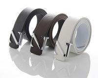 FREE SHIPPING Z buckle black brown white orange color 2013 faux PU belt for men dropshipping z01