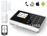 IOS/Android app control for anti-thief alarm system gsm auto dial help elderly