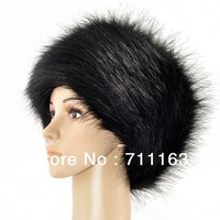 Wholesale ! 2014 New Ladies Faux Fox Fur Russian Cossack Style Hat Luxury Fur Beanie Sale!!  10pcs / lot