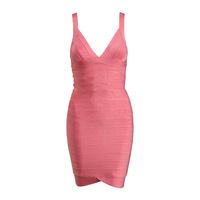 2014 New Color J362 Pale Pink Strap bandage cocktail and party Dresses