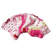 High quality beautiful 100% cotton little princess socks child short socks 15 - 23
