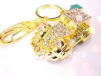 Luxury diamond car U disk  Genuine Capacity USB Flash Drive, Heart Pen Driver, Gift USB Flash Disk, Jewelry USB flash drive