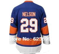 free shipping #29 BROCK NELSON  STITCHED  ICE HOCKEY JERSEYS SIZE 48 50 52 54