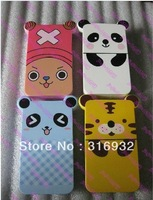 Cute animal chopper Plastic Contact Lens Travel Kit Box Set, companion sets Free shipping